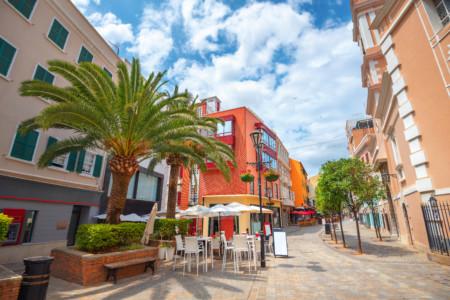 Gibraltar Town, main street