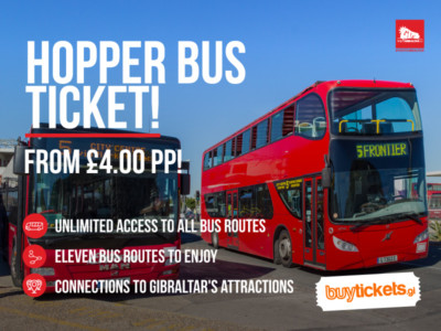 Hopper Bus Gibraltar